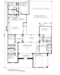 Mediterranean House Plans With Courtyard 631 Best House Plans Images On Pinterest House Floor Plans