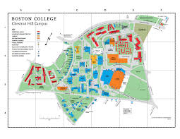 Boston University Map by Events