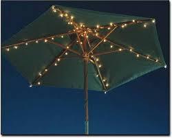 Patio Umbrella String Lights Patio Umbrella Lights Outdoor Living Pinterest Patio