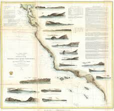 Map Of West Coast States by File 1853 U S Coast Survey Map Of The West Coast Of The United