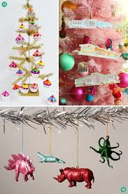 roundup 24 modern and easy diy christmas ornaments curbly