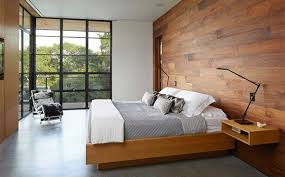 Interior Wood Paneling Sheets 20 Bedrooms With Wooden Panel Walls Home Design Lover