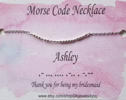 morse code necklace personalized morse code necklace necklace morse code
