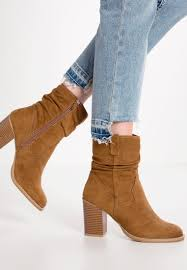 womens boots dune dune lace up boots brown leather heels by dune railey