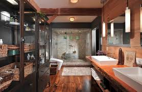 rustic bathroom showers rustic bathroom with slate shower best 25