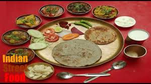 test cuisine popular gujarati thali trying indian food taste test