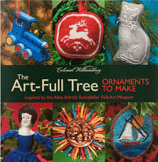 colonial wiliamsburg new book the tree ornaments to