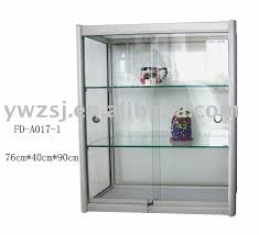 Metal Storage Cabinet With Doors by Metal Cabinet With Glass Doors Storage Homesfeed And White Color