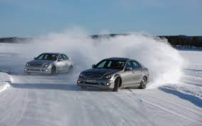 drift cars drawings mercedes cars drifting on the snow