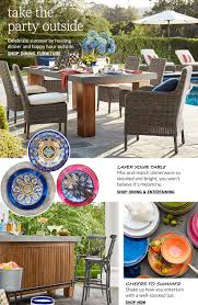 Pottery Barn Benchwright Collection by Outdoor Living Pottery Barn