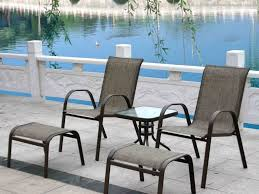 Patio Chair With Ottoman 2000 Patio Furniture Sets And Pictures