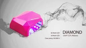 uv led nails lamp diamond new model by hkhf pl youtube