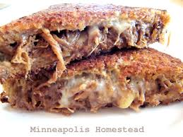 pulled pork bbq grilled cheese sandwich minneapolis homestead
