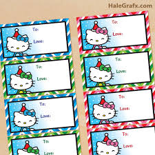 hello wrapping paper free printable christmas hello gift tags arts crafts
