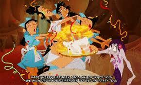 Disney Birthday Meme - disney birthday gifs get the best gif on giphy