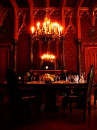 What An Perfect Long Dining Table And The Room Is So Gothic - Gothic dining room table