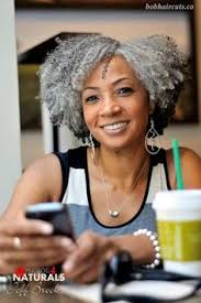 how to wear short natural gray hair for black women natural hairstyles with gray hair black women design 639x960 pixel