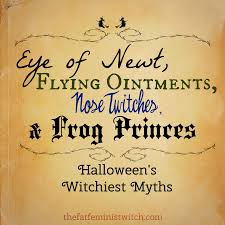 eye of newt flying ointments nose twitches u0026 frog princes part