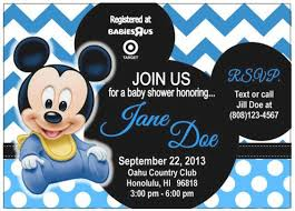 baby mickey baby shower baby mickey mouse baby shower invitations sweetkingdom co