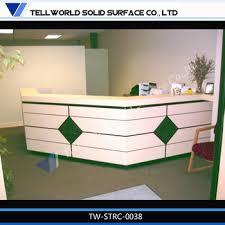 Front Reception Desk Designs Luxury Reception Counter Modern Front Desk Design L Shaped