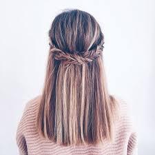 18 no heat hairstyles braid hair fishtail braids and fishtail