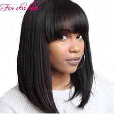short bobs with bohemian peruvian hair find more human wigs information about free shipping 150 density