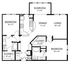 sunroom floor plans the reserve on cave creek apartments 19635 n cave creek rd