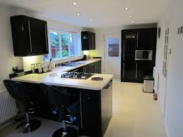 black gloss kitchen ideas white gloss kitchen with black worktops ideas best