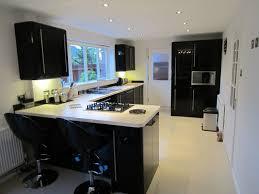 black gloss kitchen ideas white gloss kitchen with black worktops ideas best