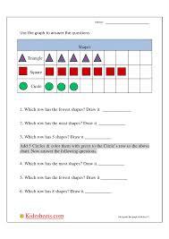 kidz worksheets first grade bar graph2