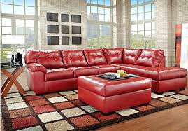 red leather sectional sofa bed u2013 forsalefla