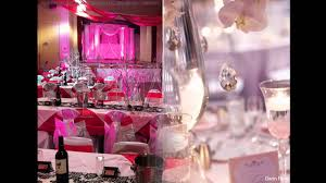 theme wedding decor pink themed wedding decorations ideas