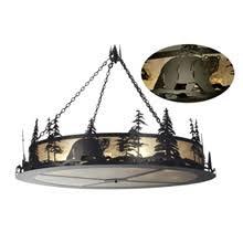 Bear Chandelier Rustic Chandeliers Lamps Beautiful