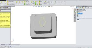how to create a library design feature in solidworks