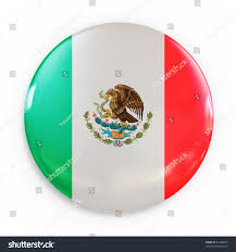 Mexixan Flag Badge Mexican Flag Stock Illustration 61246072 Shutterstock