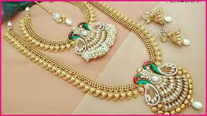 bridal jewelry necklace sets images Latest 1gm gold bridal jewellery sets with price 1 gram gold jpg