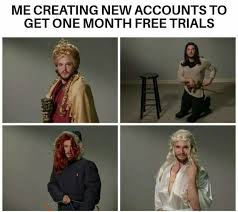 Creating Memes - dopl3r com memes me creating new accounts to get one month free