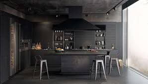 iron kitchen island kitchen cool black kitchen decor with modern black kitchen
