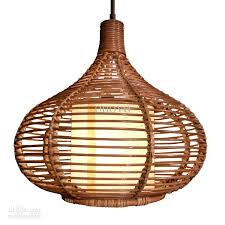 Wicker Pendant Light 14 Rattan Pendant Light New Modern Study Dining Room Pendant L