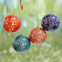 unicef market painted ornaments