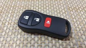 nissan sentra key fob cover how to change key fob battery on nissan 350z altima armada maxima