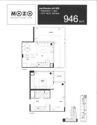 mozo lofts 333 adelaide st east penthouse floor plans