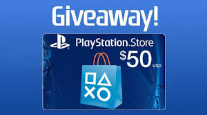 psn gift card playstation store 50 gift card giveaway gamerevolution