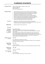 Resumes Examples Free Choose Choose Contemporary Resume Format Resume Format Best 25
