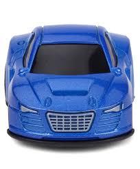 smiles creation mini car toy blue
