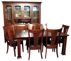 Dining Room Chairs Chicago Oak Park Dining Room Set Amish Furniture Gallery Custom Built