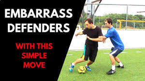 embarrass and destroy defenders with this easy soccer move youtube