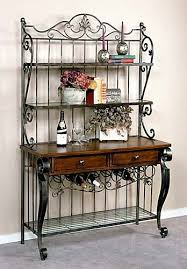 Bakers Rack With Doors Best 25 Bakers Rack Ideas On Pinterest Bakers Rack Decorating