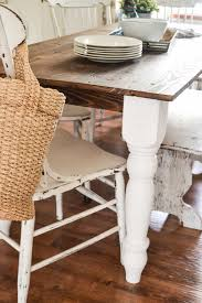 easy diy farmhouse table easy diy farmhouse table my creative days