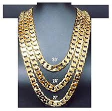 gold necklace men fashion images Hollywood jewelry 24k gold chain necklace 9mm shinny for men hip jpg